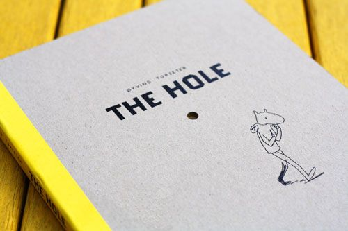 The Hole: An Existential Meditation in Simple Scandinavian Illustrations and Die-Cut Magic | Brain Pickings