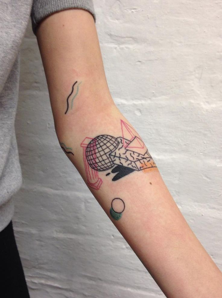 Tattoo by Disinhibition