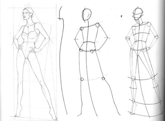 How to Sketch Fashion Design | fashion design drawings