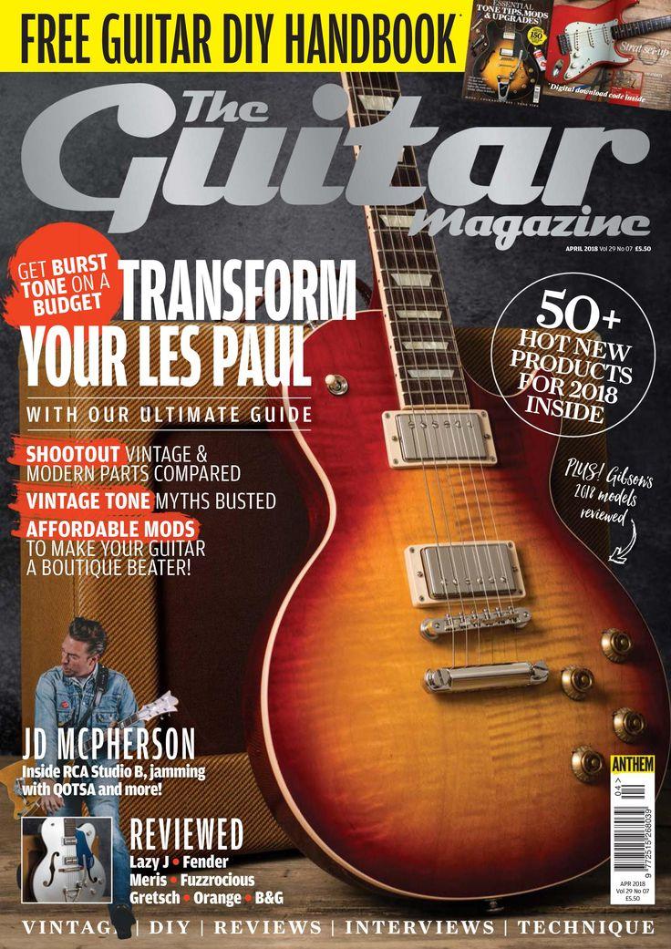 The Guitar Magazine - April 2018 / AvaxHome