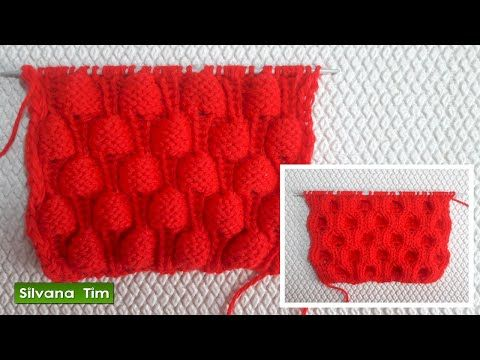 Cómo Tejer Punto ROPA BEBÉ #14 How to Knit a BABY STITCH 2 Agujas (386) - YouTube