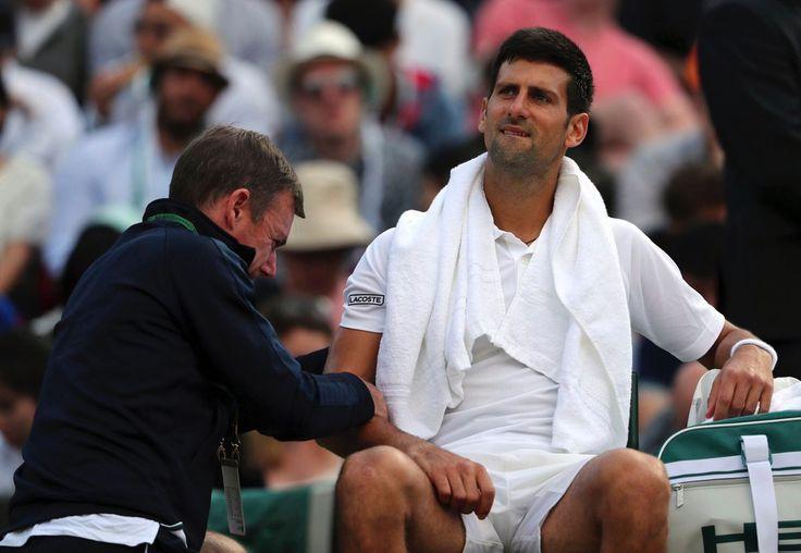 El tenista profesional, Novak Djokovic no jugará más en el 2017 por una lesión en el codo.7/26/17 @PanamaAmerica