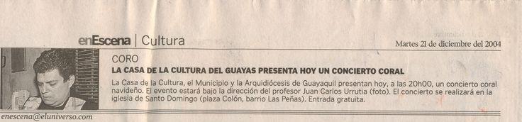 Diario El Universo Guayaquil - Ecuador