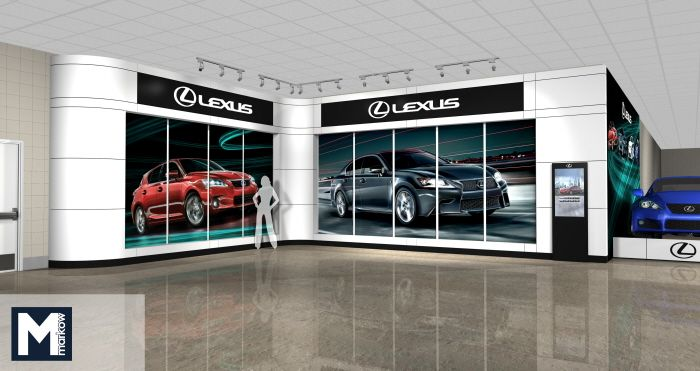 Lexus at Wells Fargo Center by Matthew Markow at http://www.coroflot.com/matthew_markow/profile