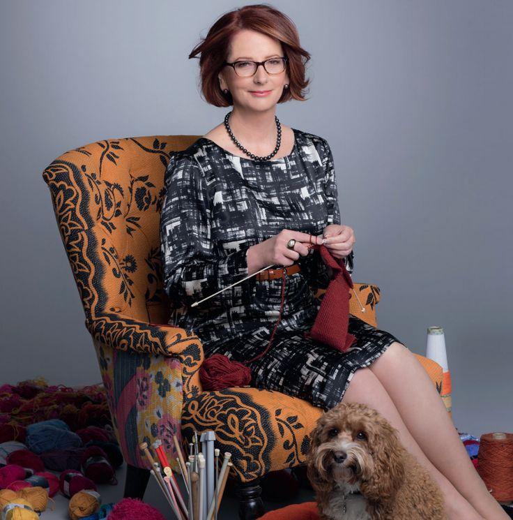 Too cool - former Australian Prime Minister Julia Gillard