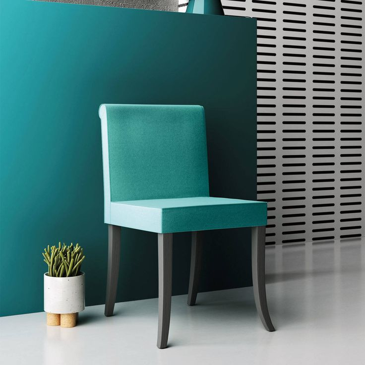 ''Cannella' upholstered dining chair by Imperial Line : Sandalye & Banklar My Italian Living