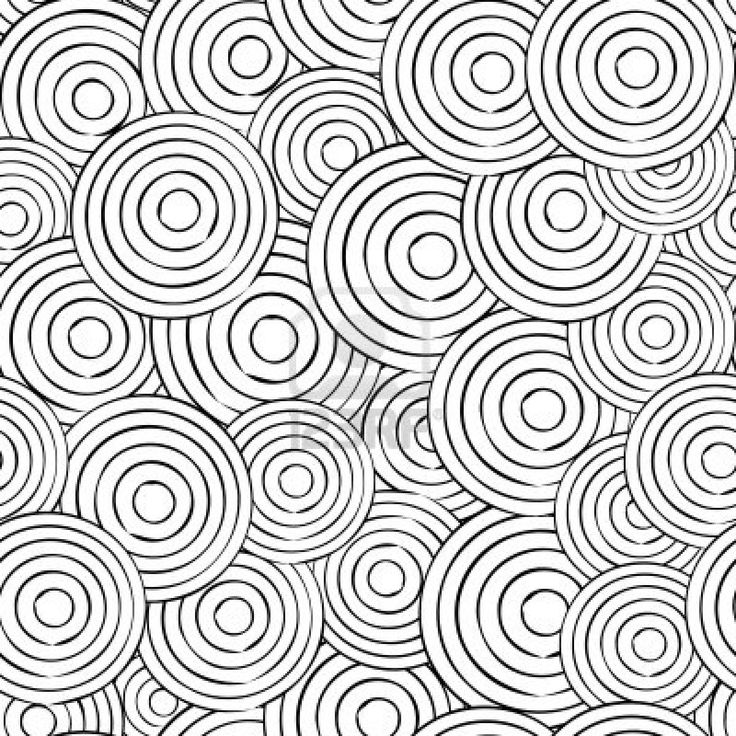 circle abstract coloring pages - photo#1