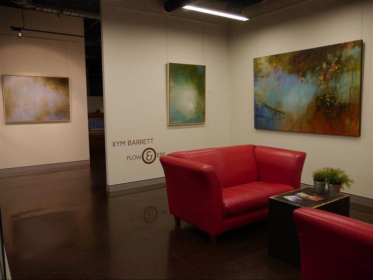 Flow & Ebb by Kym Barrett at Regional Arts House