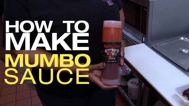 In DC, you can't have wings without mumbo sauce-- but have you ever made it yourself? We asked Charles and Stephanie Smith, owners of Chucks Wagon Barbeque in Bowie, Md. to show us how it's done.