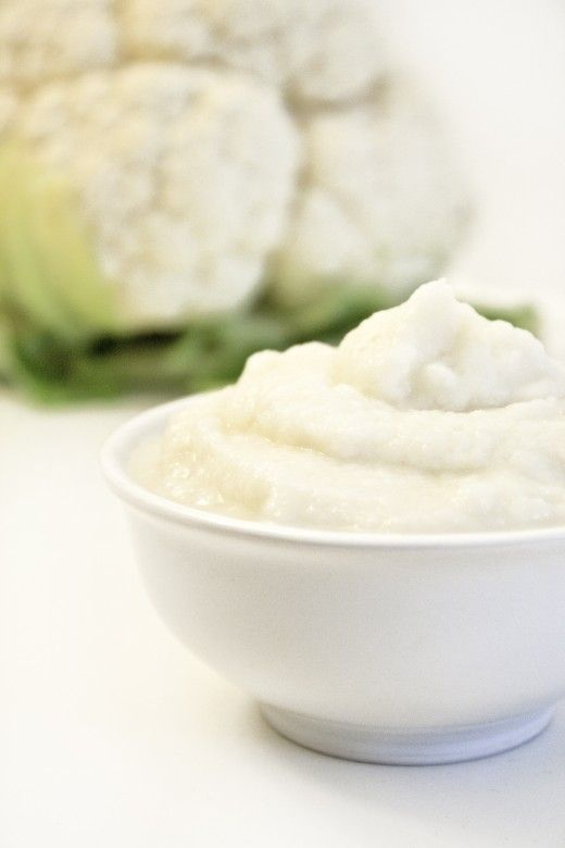 Cauliflower Mashed Potatoes  (Amount of servings varies on the size of your cauliflower)    1 head cauliflower  ½ cup milk of your choice – unsweetened    additions:  parsley  chives  garlic  #health #food #recipe