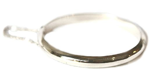 Sterling Silver Toddler or Baby Bangle (Smooth Finish). Find it at www.giftedmemoriesjewellery.com.au