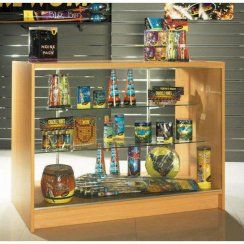 Premium shop counter for display of ornaments and jewellery