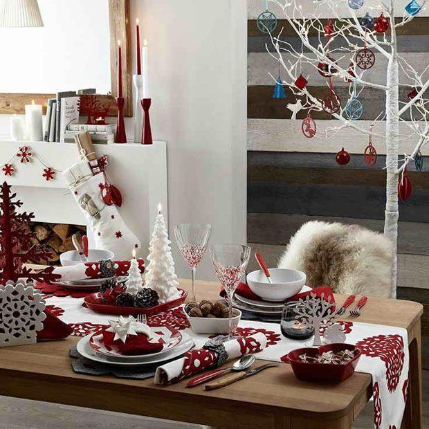 Karácsonyi dekoráció panel lakásba