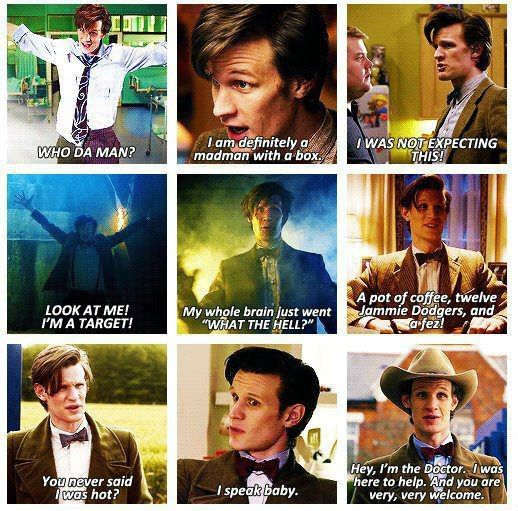 I loved 10 so much I thought I wasn't going to like 11 but his first full episode I was already won over. He may not be my doctor but he sure was brilliant!