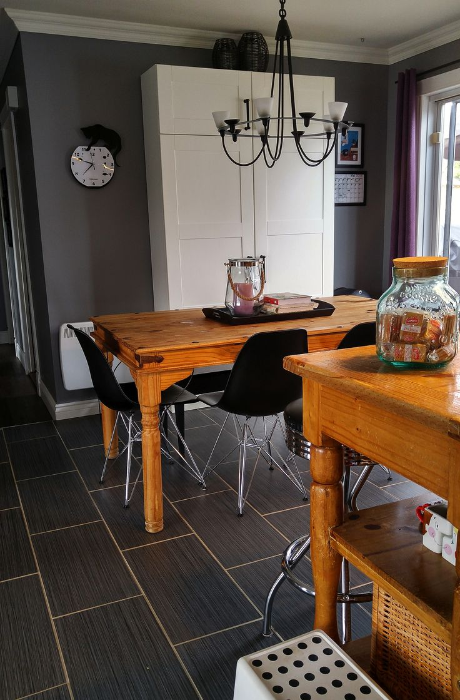 My grey mix and IKEA kitchen.