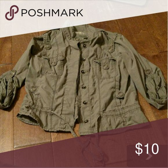 Women's utility jacket Great condition. Fits short and more like a medium Jackets & Coats Utility Jackets