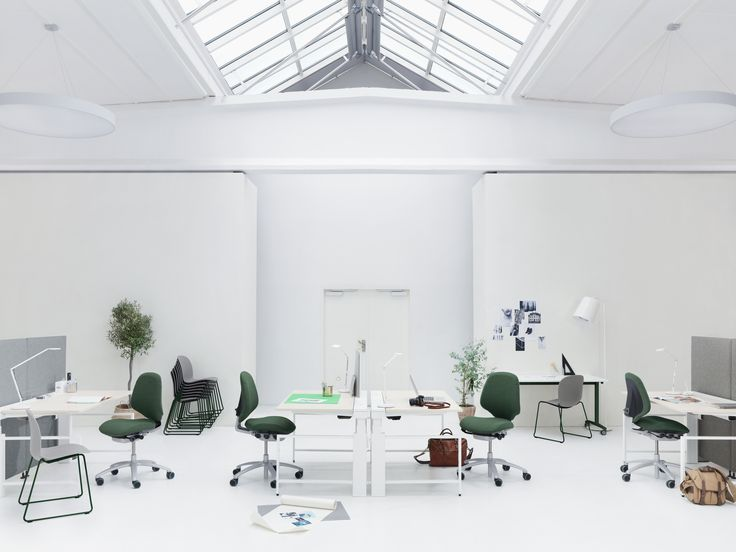 Fresh office! #RHMereo #InspireGreatWork #design #Scandinavian #office