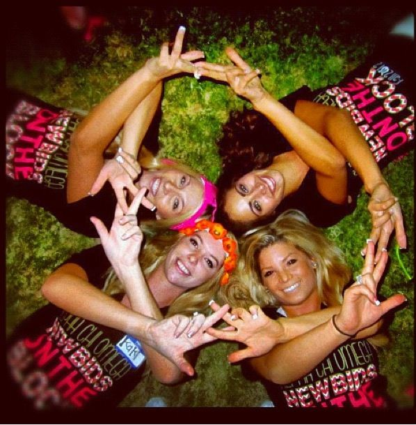 throw what you know in adorable AXO!