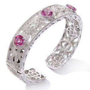 a pink diamond bracelet ~ you can't have too many bracelets.