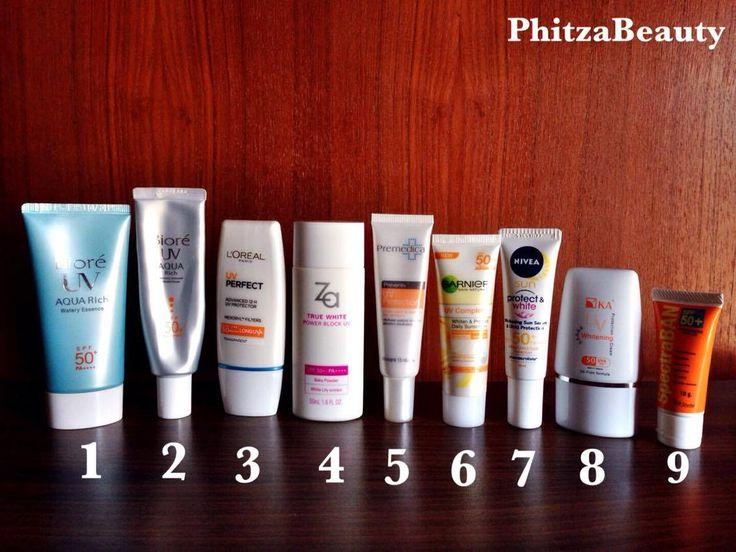 [Review] เปิดกรุรีวิวครีมกันแดด 9 ตัว | Sunscreen review