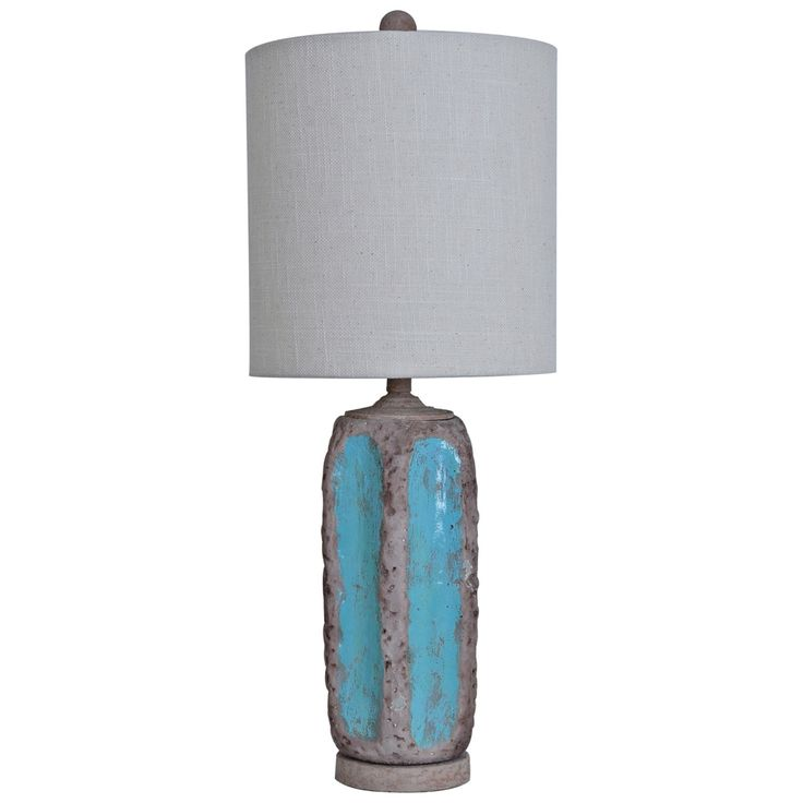 Crestview Collection Flagstone Ceramic Tall Table Lamp - Style # 7H131