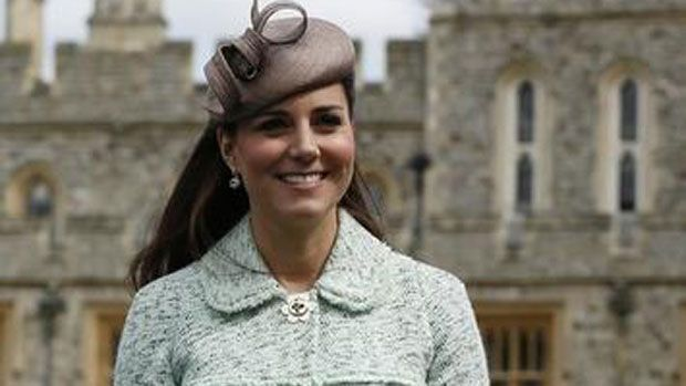 Royal baby's nursery under construction as due date nears