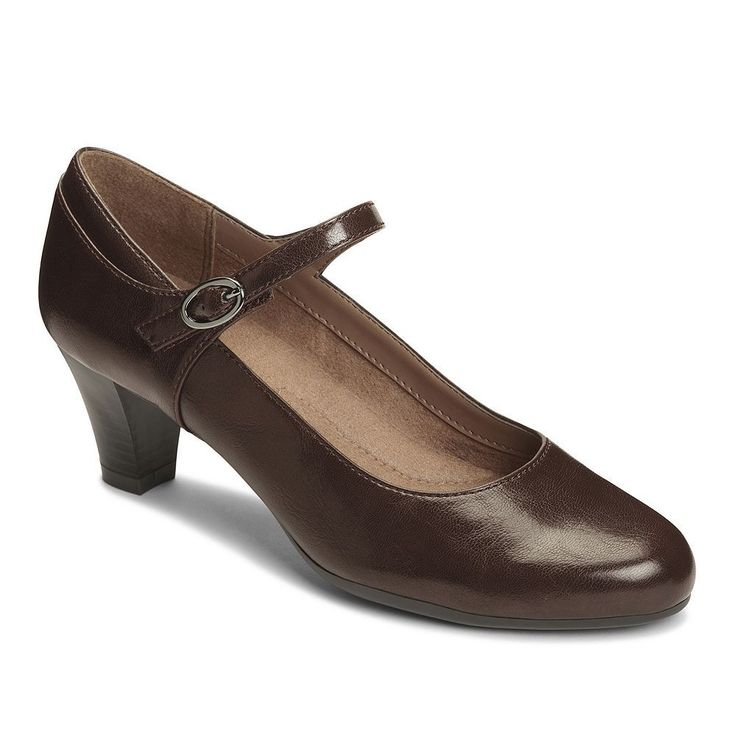 A2 by Aerosoles For Shore Women's Mary Jane Heels, Size: medium (6.5), Brown