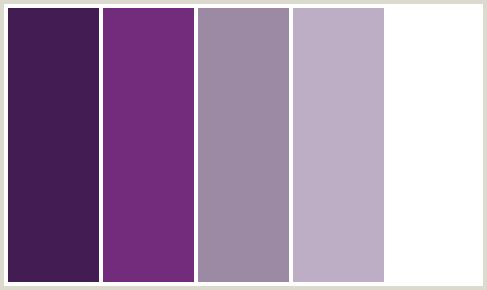 ColorCombo171 - AMETHYST SMOKE, CHATELLE, DEEP PINK, EMINENCE, FUCHSIA, FUSCHIA, GRAPE, HOT PINK, MAGENTA, PURPLE, PURPLE, VIOLET, VIOLET, VIOLET BLUE, WHITE.