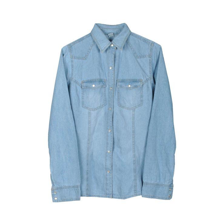 Camisa jeans de mujer.
