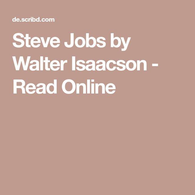 Steve Jobs by Walter Isaacson - Read Online