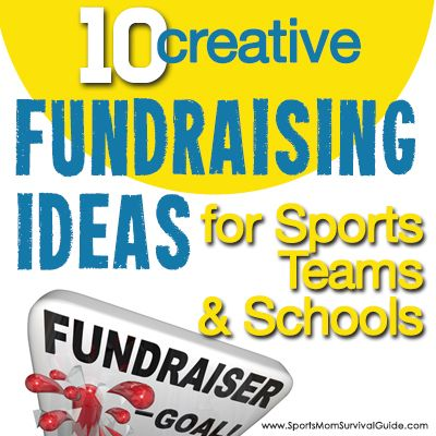 Here's a list of 10 creative, new and different fundraising ideas. Great for sports teams, schools or any group that needs to do a fundraiser!