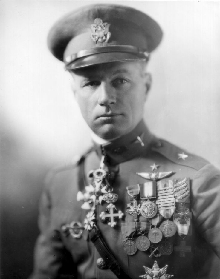 "William ""Billy"" Mitchell (December 29, 1879 – February 19, 1936) was a United States Army general who is regarded as the father of the U.S. Air Force. Mitchell received many honors following his death, including a commission by President Franklin Roosevelt as a Major General. He is also the only individual after whom a type of American military aircraft, the North American B-25 Mitchell, is named."