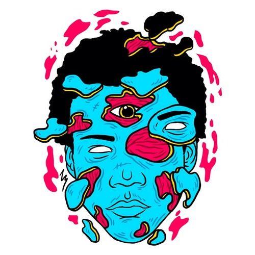 Childish Gambino illustration