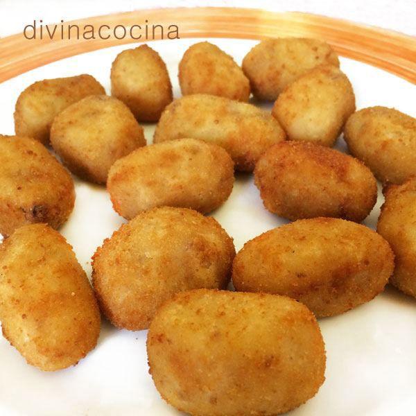 Croquetas de Cabrales o Roquefort < Divina Cocina