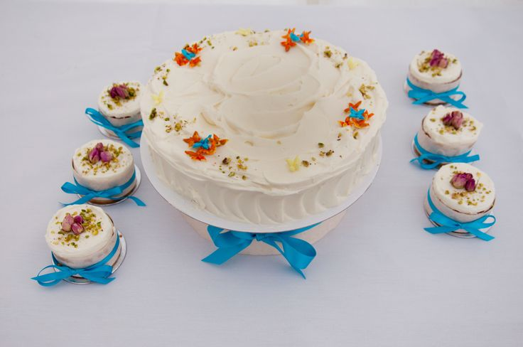 A perfect summer wedding cake by Terry. Order yours by emailing cake@lrbshop.co.uk