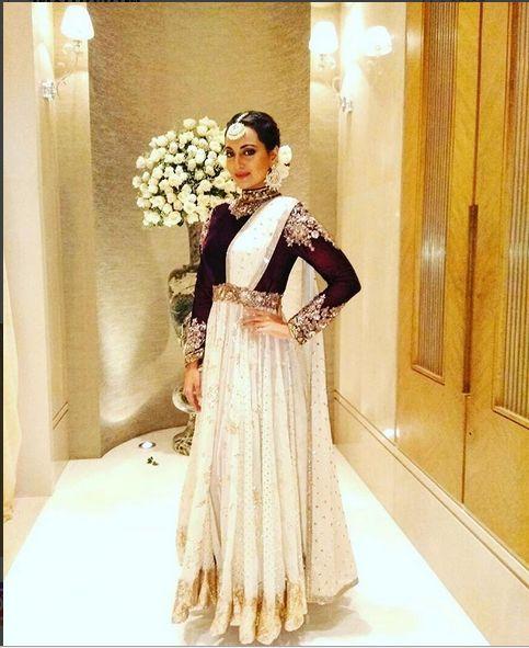 Sonakshi Sinha In A Beautiful Dress By Manish Malhotra