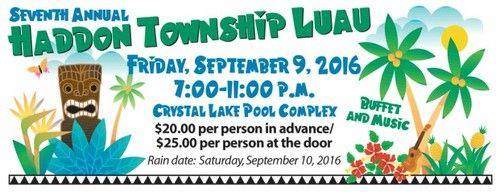 7th Annual Haddon Township Friday, 9/9/16!