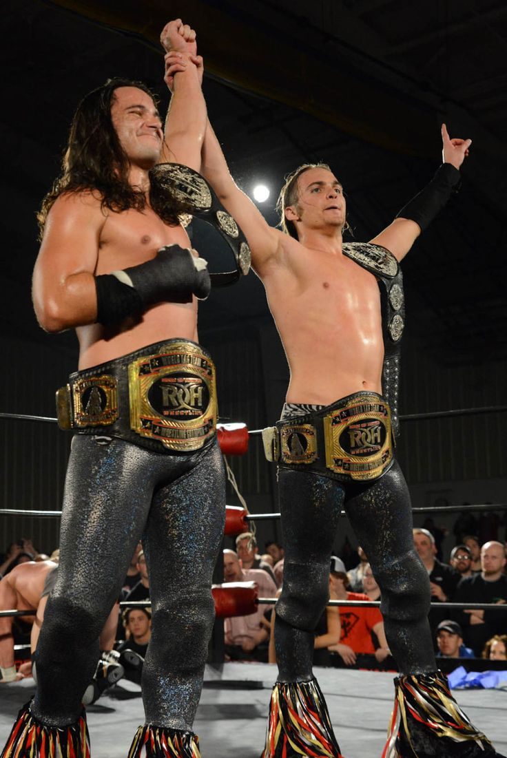 So much pileup vintage pro wrestling logos - The Young Bucks Are An American Professional Wrestling Tag Team Consisting Of Real Life Brothers