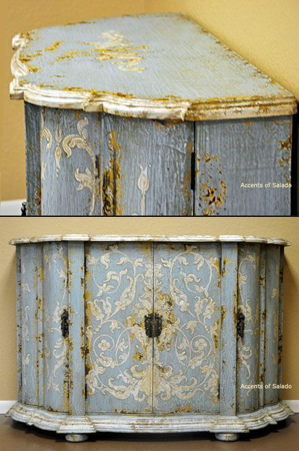 French Country Furniture Hand Painted