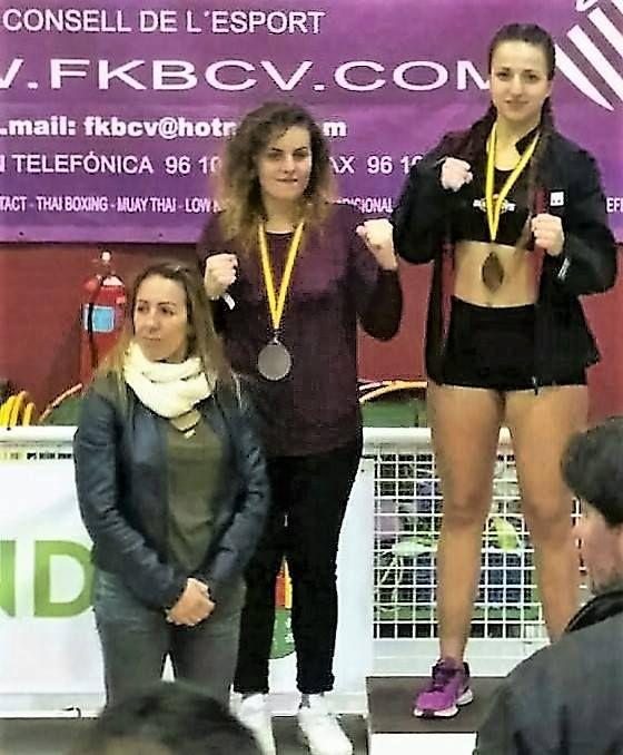 El Racó de la lluita obtiene 4 medallas dos oros y dos platas en Campeonato Autonómico de Kick-Boxing (modalidades de ring)