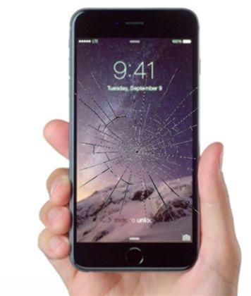 İphone 6 Plus Telefonunuz Düştü ve Camı mı Çatladı Telefonunuzda Görüntü var ve kullanabiliyorsanız Komple ekran değişimi yaptırıp yüksek ücretler ödemeyin