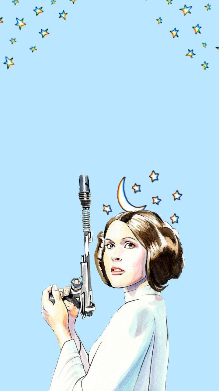 Lockscreen Star Wars Leia Organa Star Wars Wallpaper Star Wars Wallpaper Iphone Star Wars Background