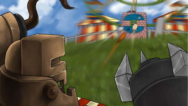 Roboto paying close attention to Bouncer and his friends hoping they will not escape. Your help is required to help Bouncer escape via playing the shooting game for iPhone, one of the latest adventure games online today..