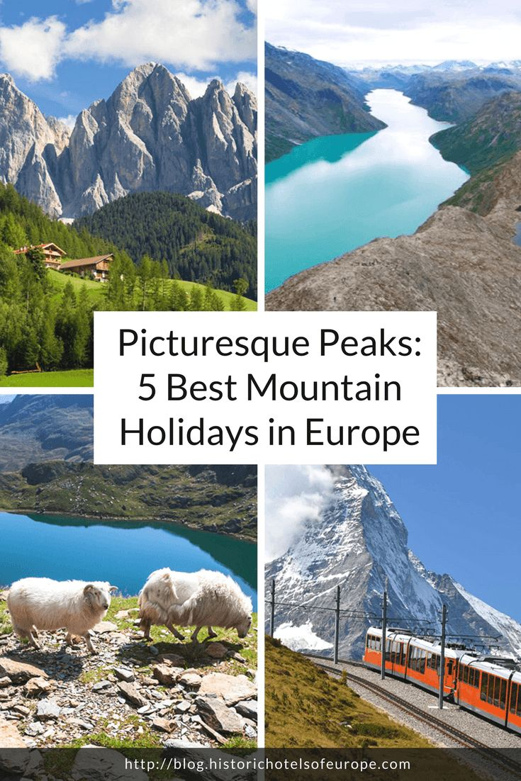 To the mountains! From the Dolomites to the Matterhorn, these five holidays let you experience the very best of Europe's prettiest peaks. #travelblog #inspiration #historictraveller