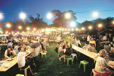 Night Noodle Markets @ Birrarung Marr (next to Federation Square). Visit every beautiful night between 14th and 30th November.  Sample food by Izakaya Den, Longrain, Charlie Dumpling and Mr Miyagi, and a convoy of food trucks dishing up cuisine from every corner of Asia.