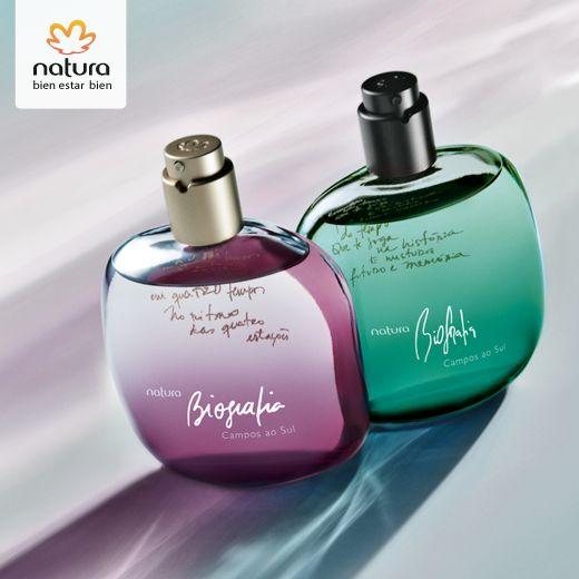 Perfumes Biografia CAMPOS AO SUL.   rede.natura.net/espaco/mulheratual
