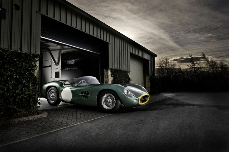 1958 Aston Martin DBR2- One of the rarest Aston's, only two ever produced.