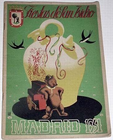 PROGRAMA DE LAS FIESTAS DE SAN ISIDRO DE MADRID DE 1951 - Foto 1
