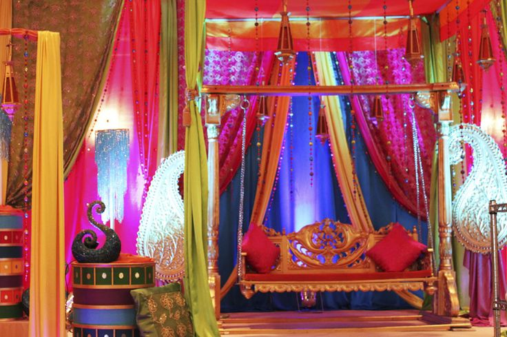 perfect setting for #indianwedding