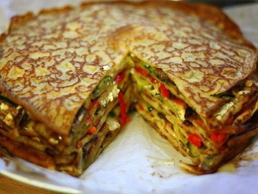 44 best vegetarian french recipes images on pinterest cooking food my love affair for crepes continuesand this roasted vegetable crepe cake is just one of the various recipes im sure i forumfinder Images